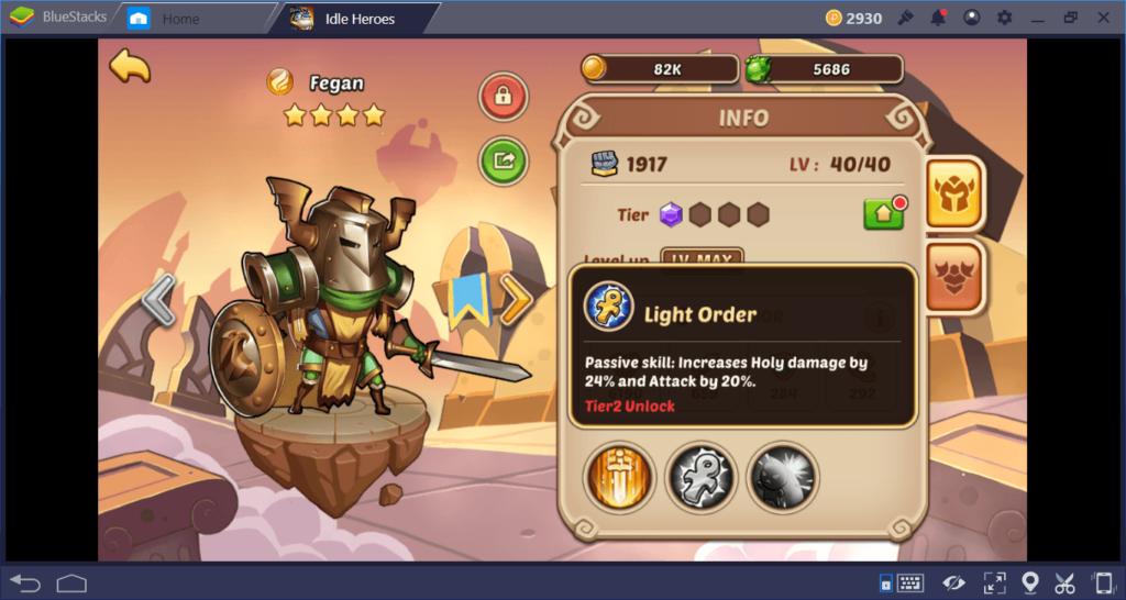 Idle Heroes على جهاز الكمبيوتر: كيفية رفع مستوى أبطالك بشكل أسرع