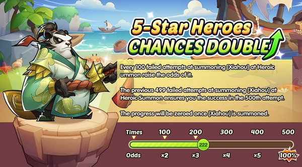 Idle Heroes October Update: New Hero Xiaohu, Happy Vacation Card, and More!