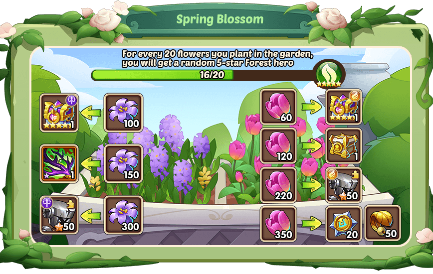 Idle Heroes: Welcome to the Spring Assembly Update