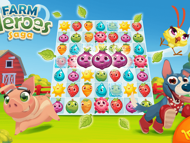 Jogue Farm Heroes para PC 13