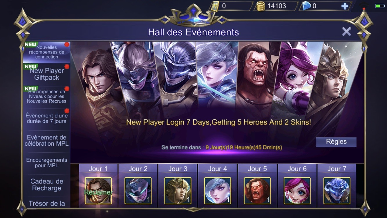 Mobile Legends Evenements Fr