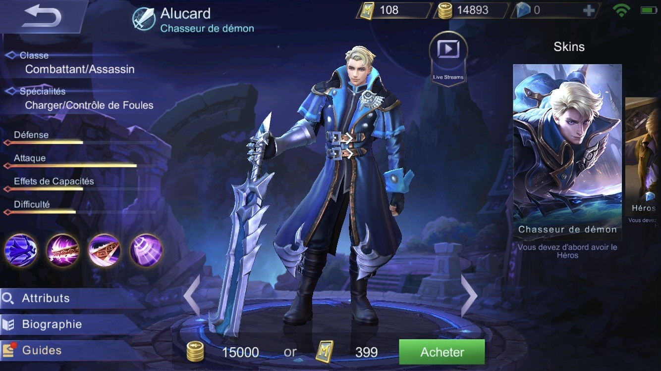 Mobile Legends Heroes Fr