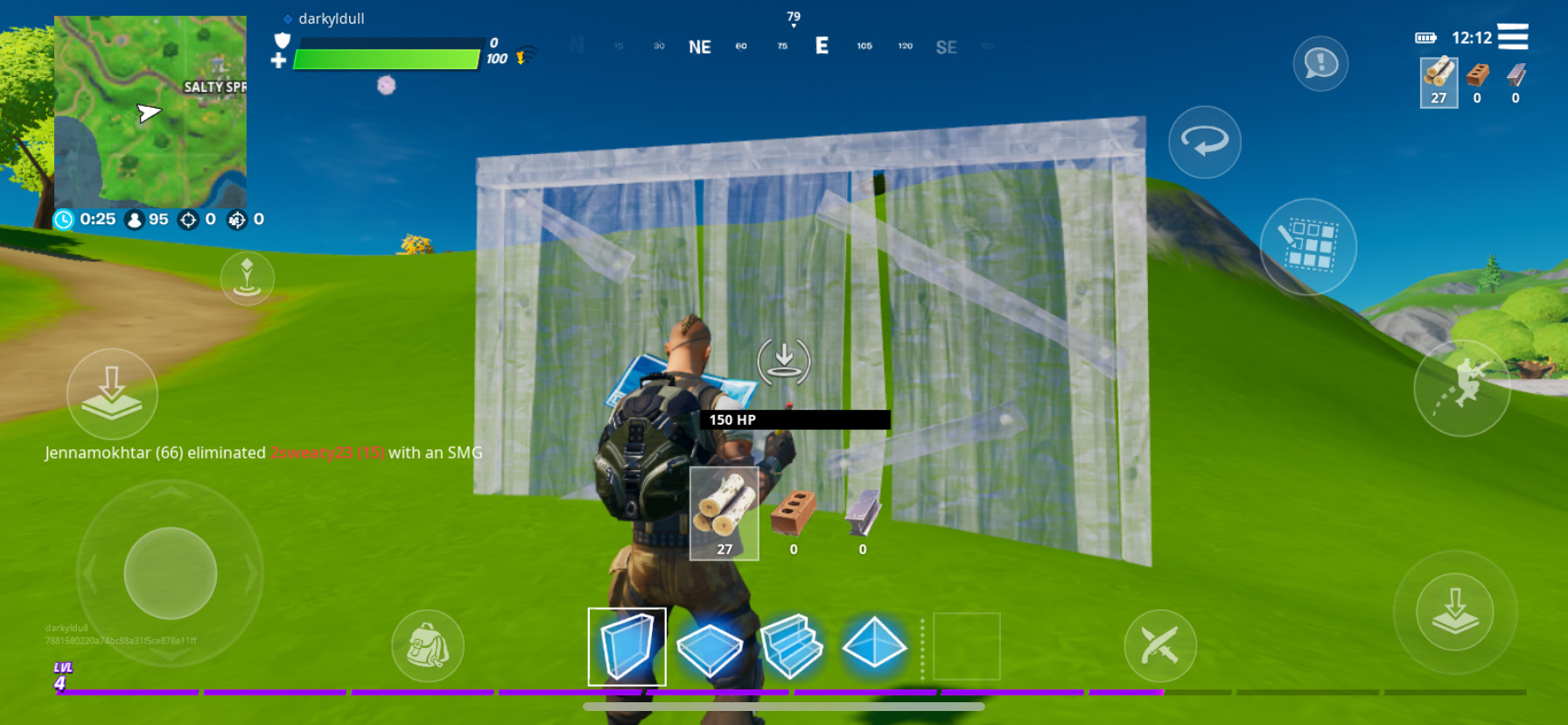 Fortnite Mobile for Android – How to Build Powerful and Effective Structures