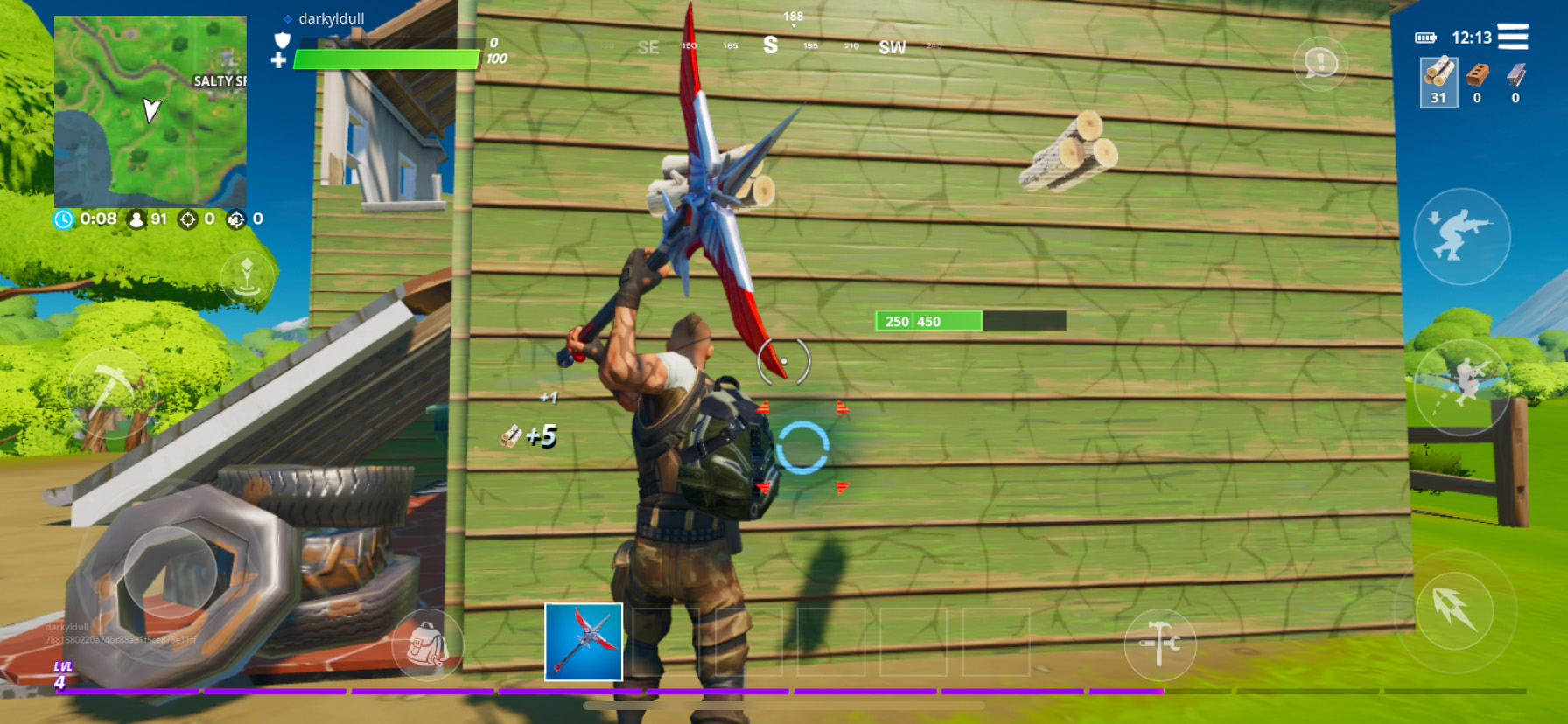 Fortnite Mobile for Android - How to Build Powerful and Effective Structures
