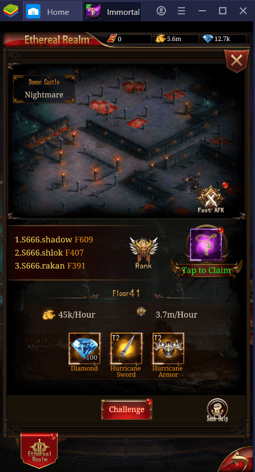 How to Farm Resources for Upgrades in Immortal Legend: Idle RPG