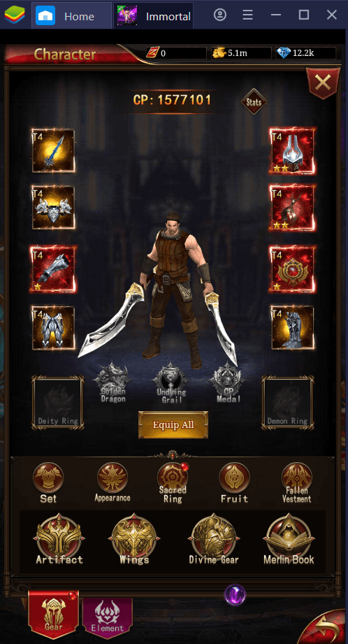 How to Play Immortal Legend: Idle RPG on PC with BlueStacks