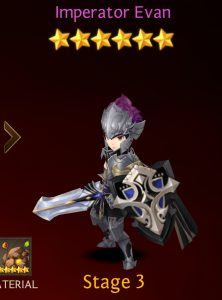Ultimate Seven Knights faction heroes list: Evan's Expedition