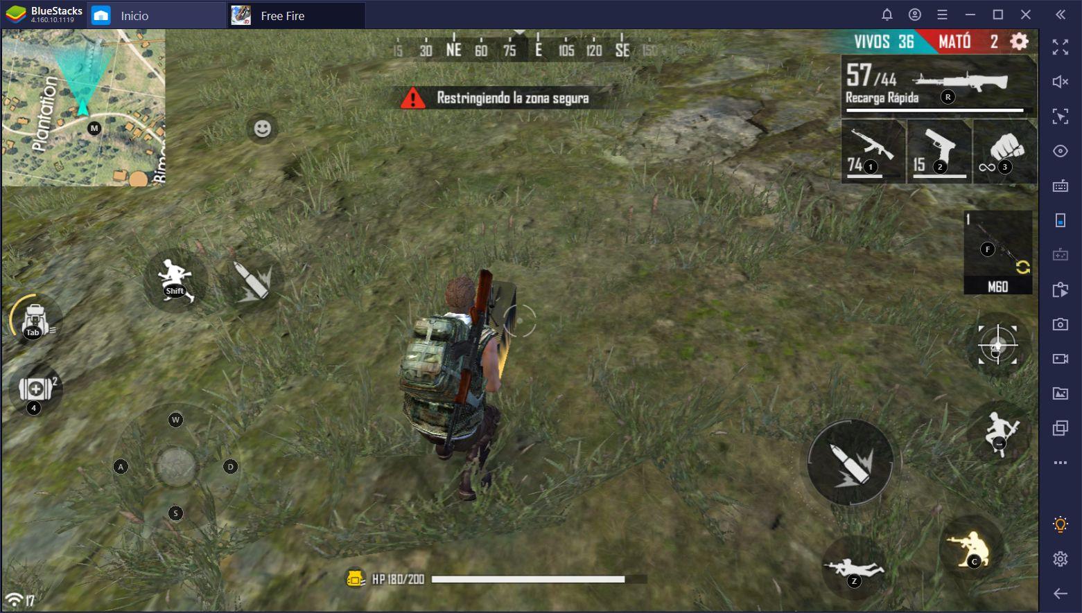 Los Nuevos y Mejorados Controles Inteligentes Para Free Fire y Call of Duty: Mobile en PC