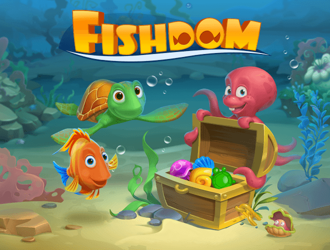 Играй Fishdom: Deep Dive На ПК 13