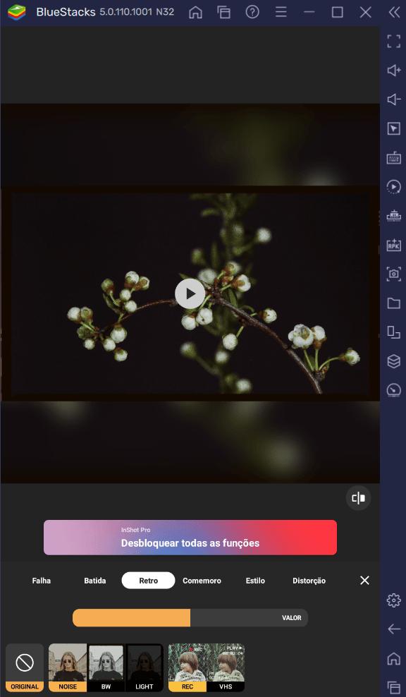 Como Instalar e Usar o Editor de Fotos e Vídeos InShot no PC com BlueStacks