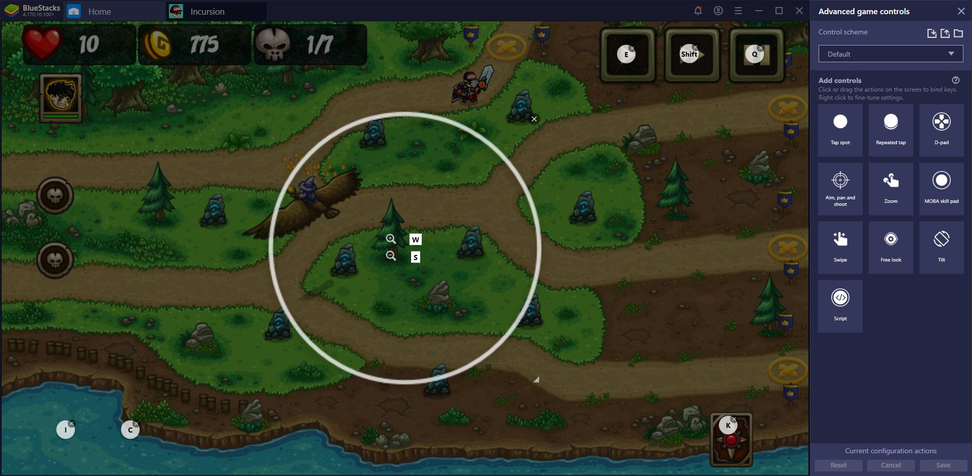 Incursion Defense on PC - How our BlueStacks Tools Can Improve Your Game