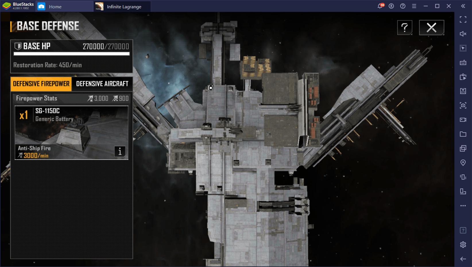لعبة Infinite Lagrange على جهاز الكمبيوتر – كيفية بناء وتطوير قاعدتك