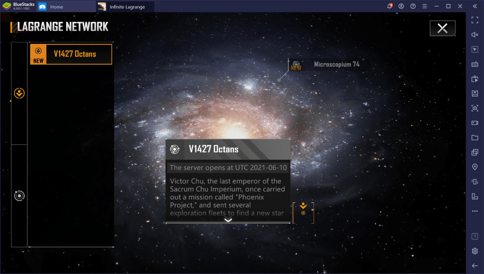 دليل المبتدئين للعبة Infinite Lagrange – أساسيات استعمار الفضاء واستكشافه