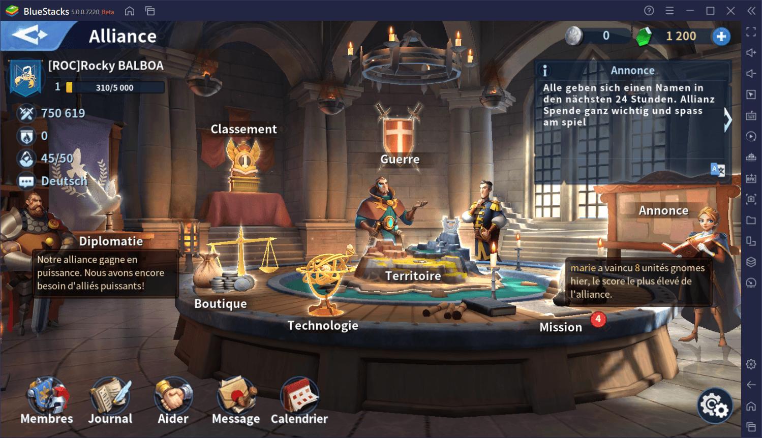 Guide de débutant pour démarrer du bon pied dans Infinity Kingdom sur PC