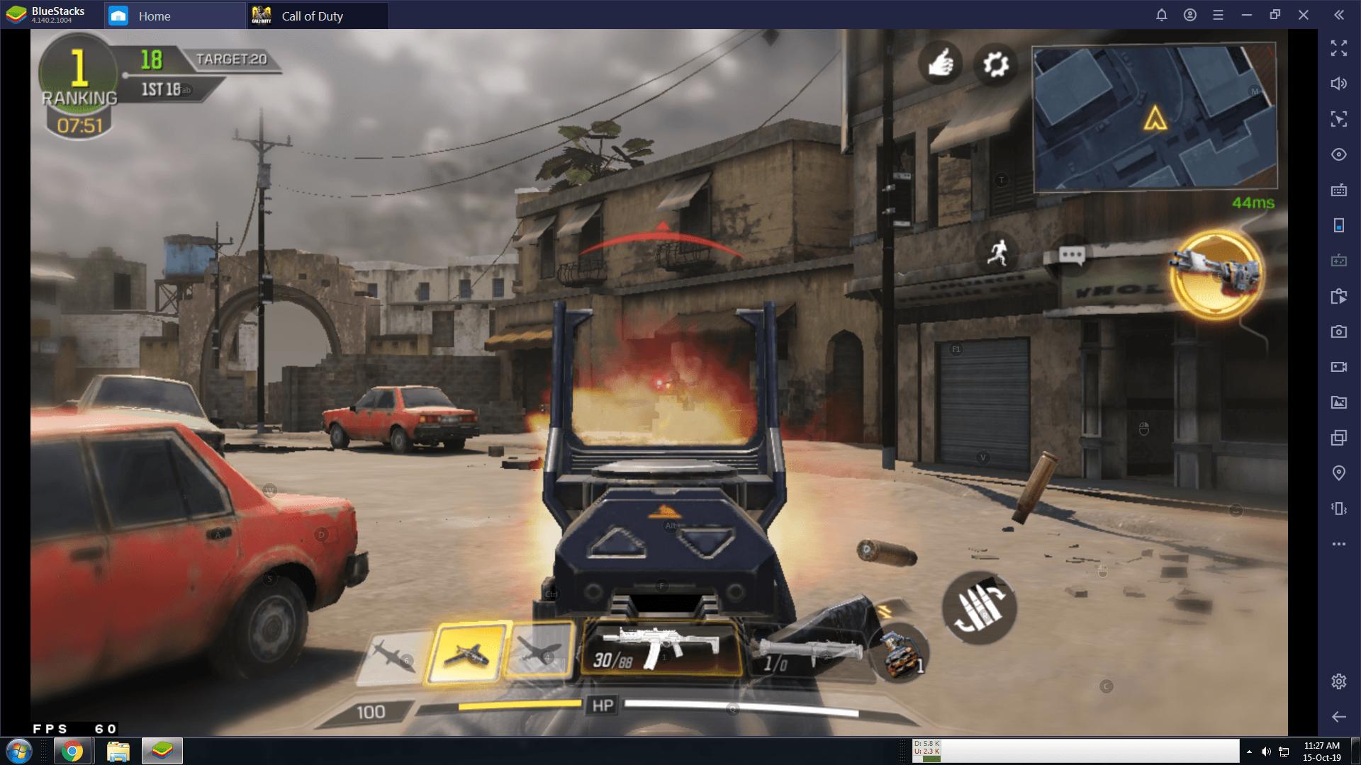 Call of Duty ADS - autofire
