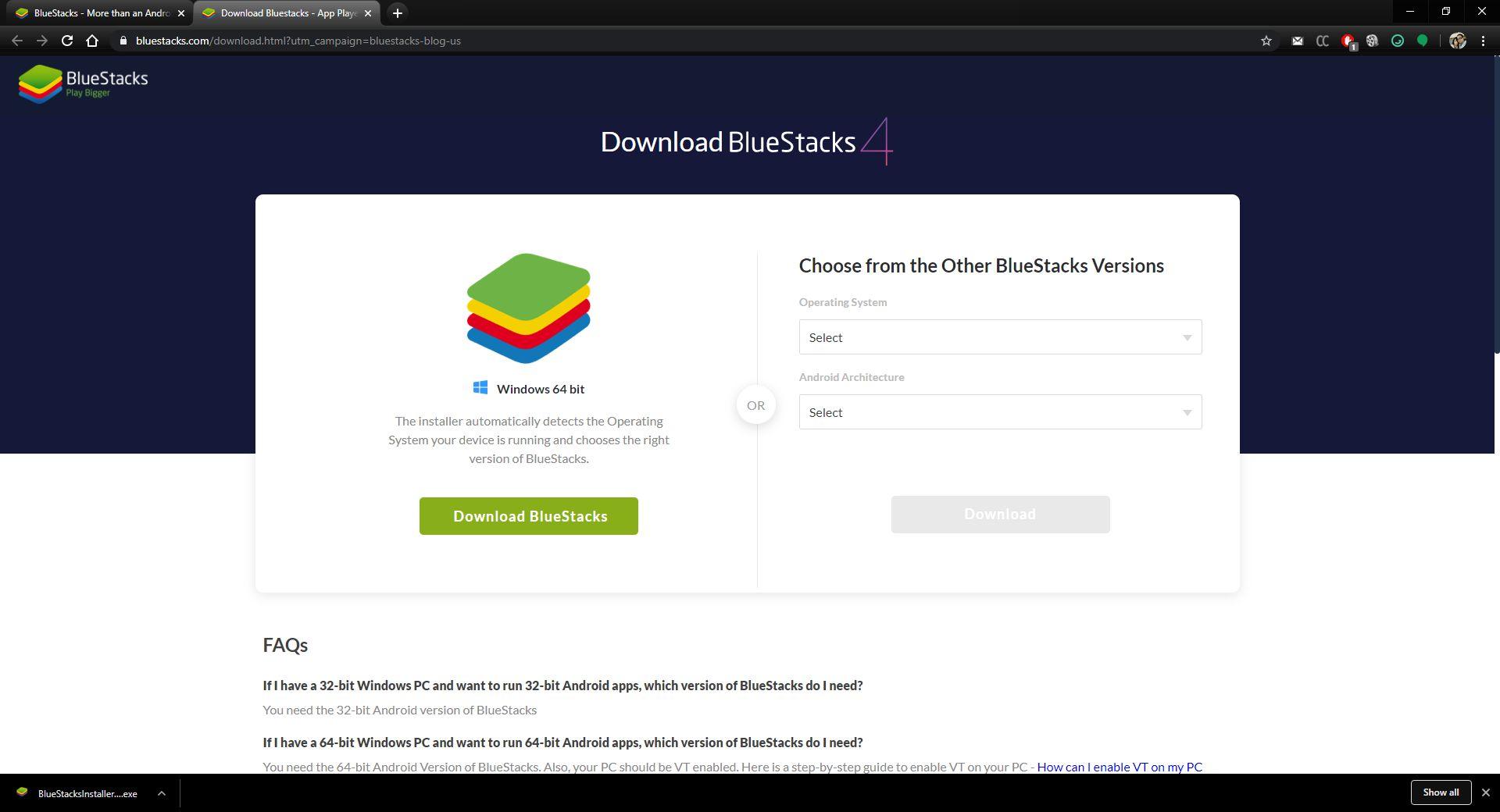 Download Blustacks