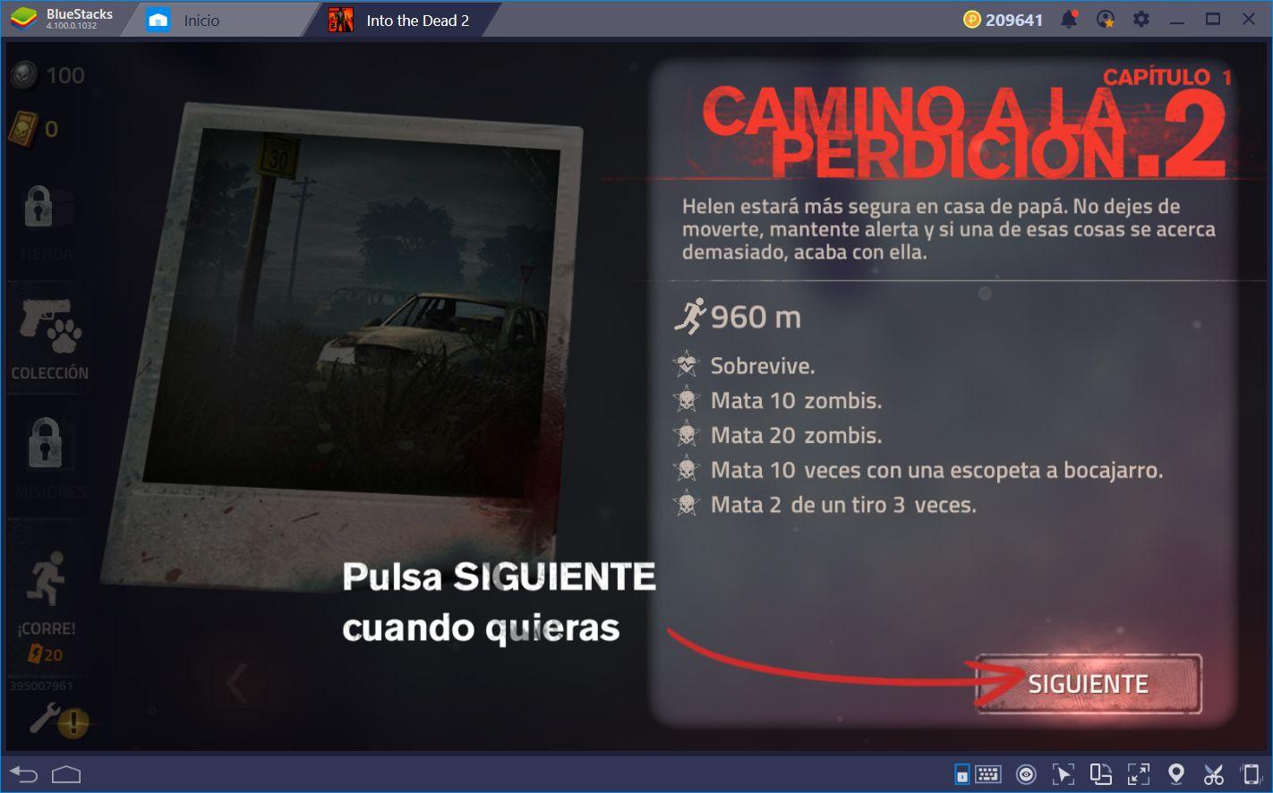 Into the Dead 2: Acción de Disparos Sobre Rieles