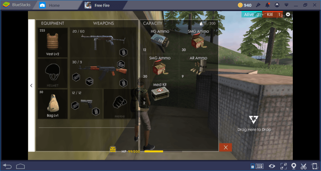 Free Fire Combat Guide on PC