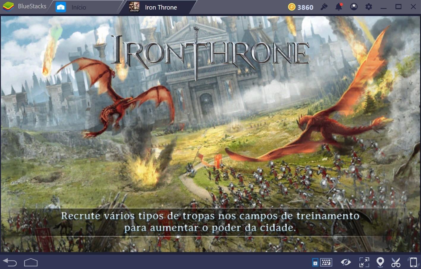 Guia para iniciantes em Iron Throne