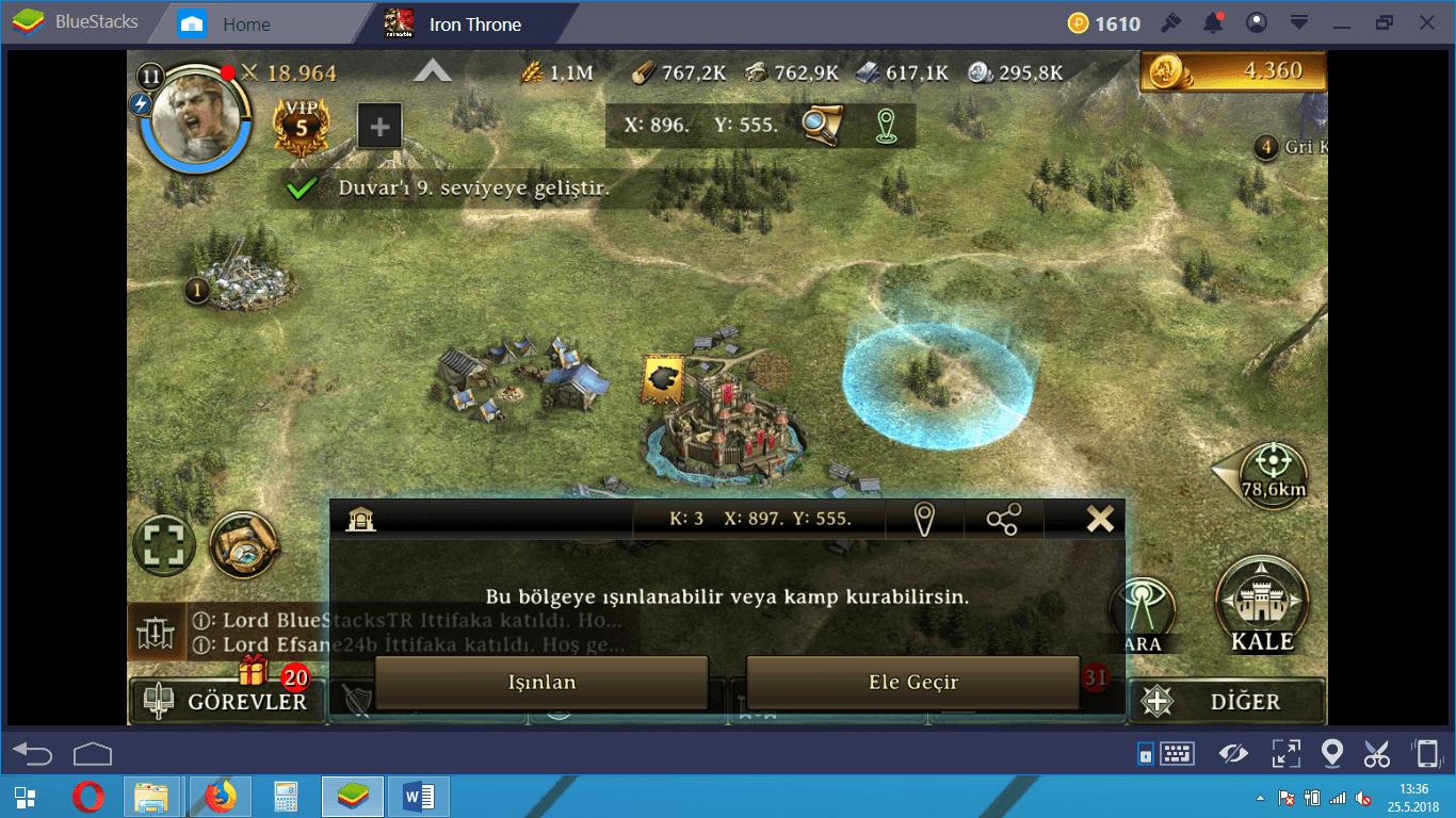 Iron Throne Canavar Avı Rehberi