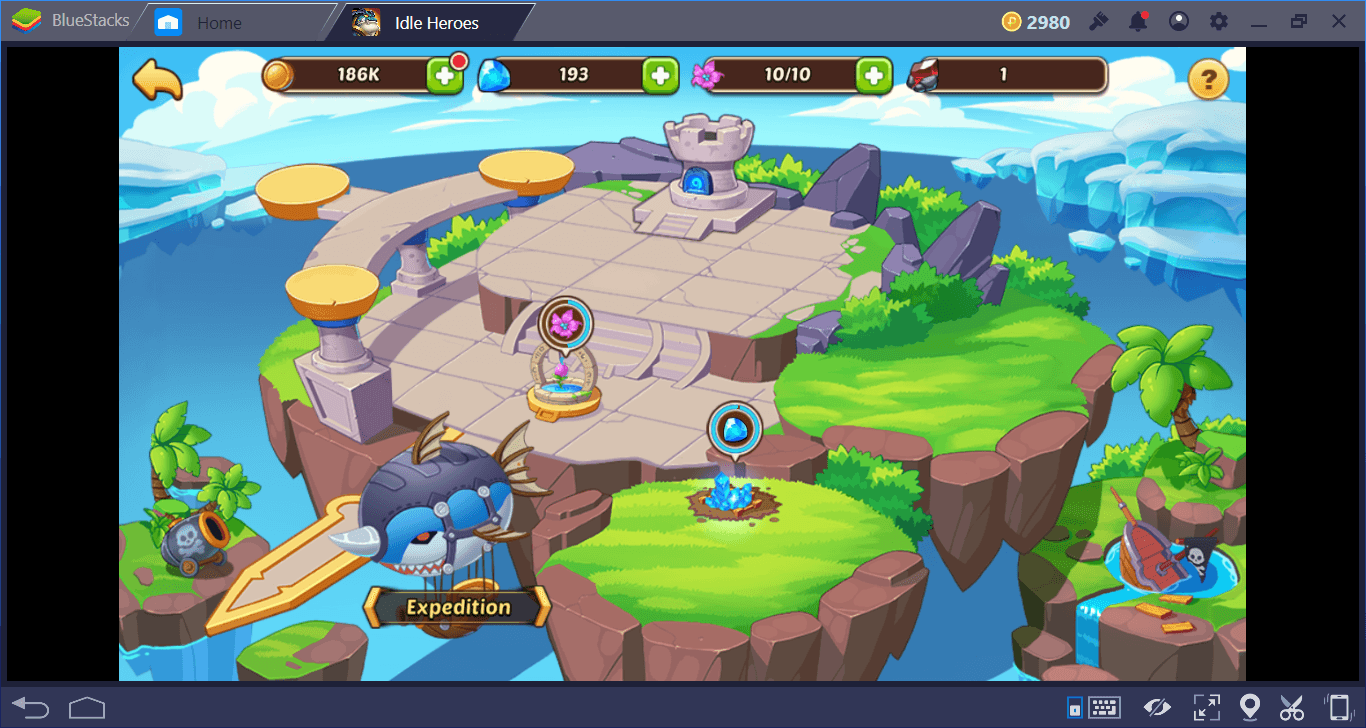 A Guide to Buildings in Idle Heroes on PC