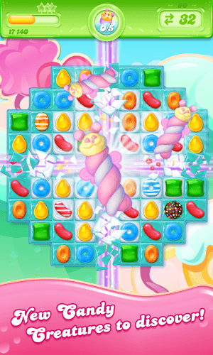 เล่น Candy Crush Jelly Saga on PC 5