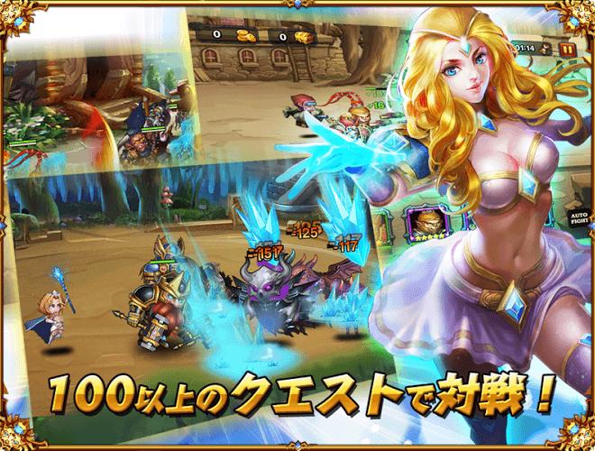 プレーする Heroes Charge on pc 16