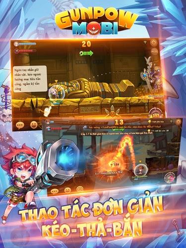 Chơi GunPow – Bắn Gà Teen PK on PC 8