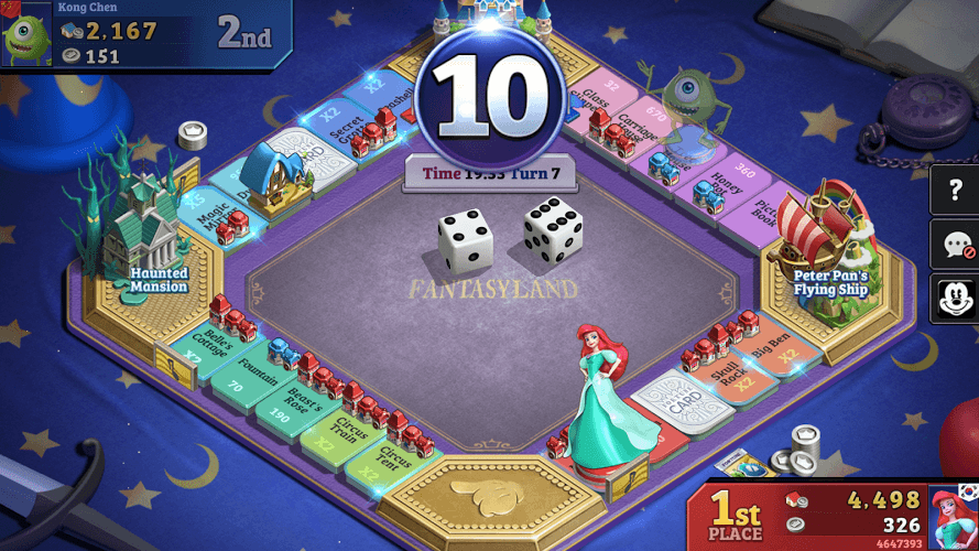 Play Disney Magical Dice : The Enchanted Board Game on PC 8