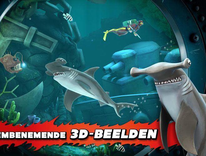 Speel Hungry Shark Evolution on PC 7