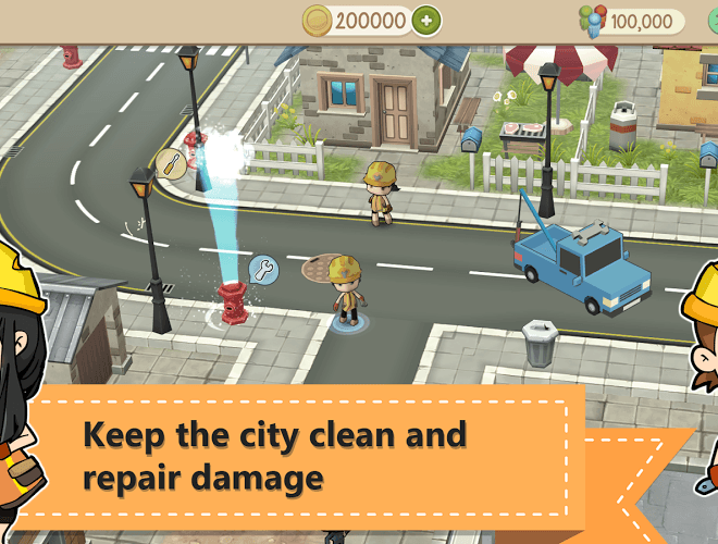เล่น Chibi Town on PC 9