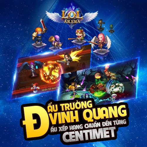 Chơi LoL Arena on pc 11