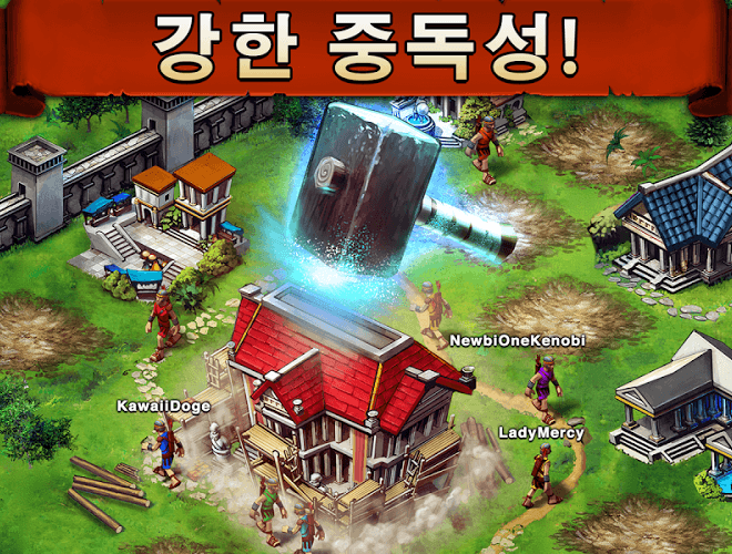 즐겨보세요 Game of War on PC 3
