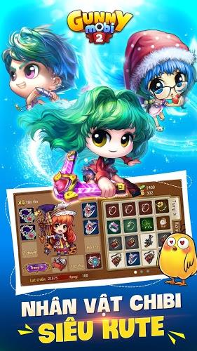 Chơi Gunny Mobi – Bắn Gà Teen&Cute on PC 7