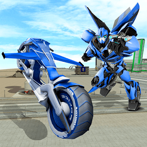 Play Flying Bike – Transformer Robot on PC 1