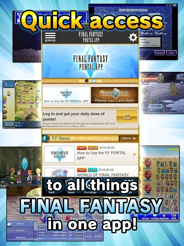 Play Final Fantasy Portal on PC 8