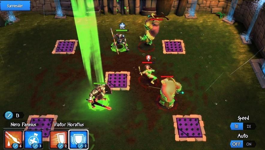 Играй Gladiator Heroes — Гладиаторы герои На ПК 8