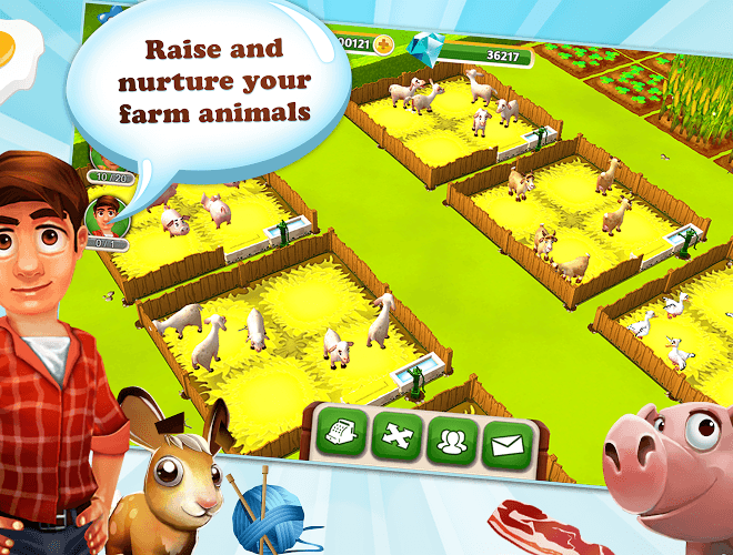 เล่น My Free Farm 2 on PC 8
