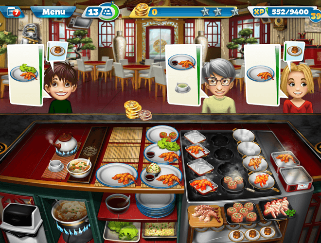 Gioca Cooking Fever on PC 8