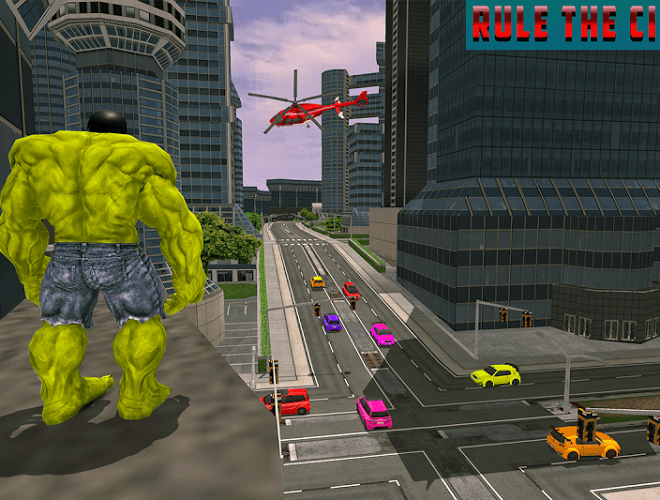 Play Monster Hero City Battle on PC 8