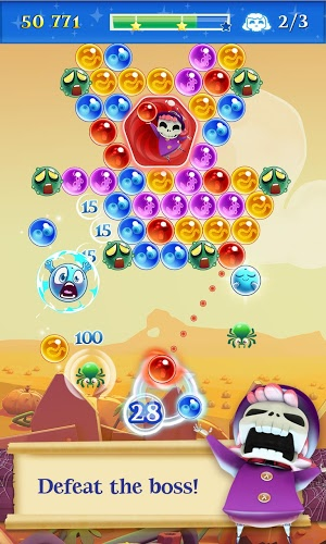 เล่น Bubble Witch Saga 2 on PC 4