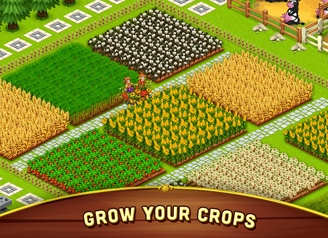 เล่น ฟาร์มขนาดใหญ่เล็ก ๆ น้อย ๆ on PC 10