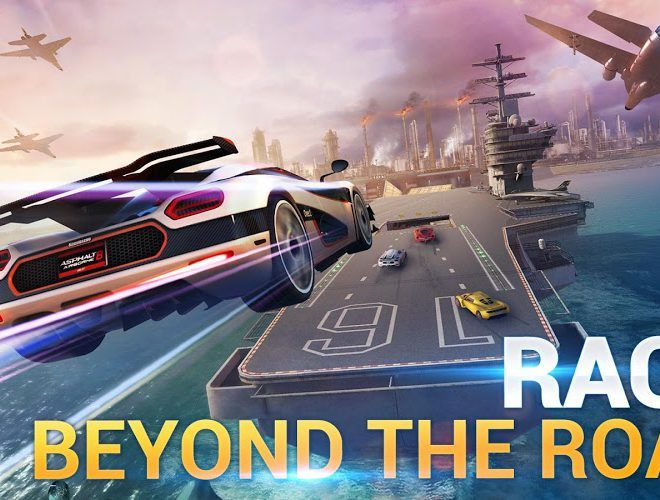 Spustit Asphalt 8: Airborne on PC 17