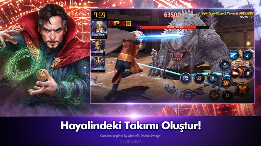 MARVEL Future Fight  İndirin ve PC'de Oynayın 5