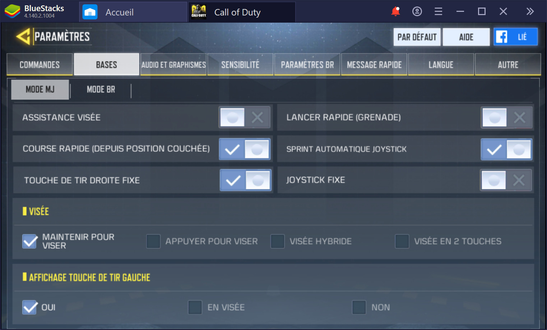 Configurer Call of Duty Mobile sur PC : comment améliorer les graphismes, le gameplay et les contrôles