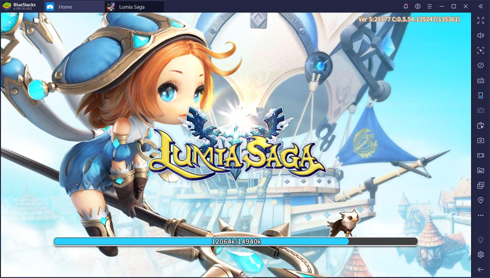 Jouez à Lumia Saga sur PC avec BlueStacks