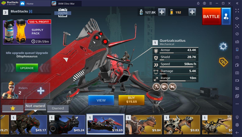 Beginner's Guide for Jurassic Monster World: Dinosaur War 3D FPS