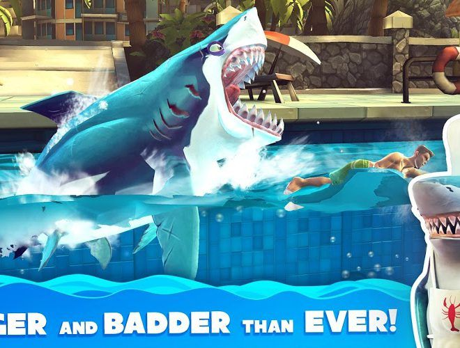 Chơi Hungry Shark World on pc 4