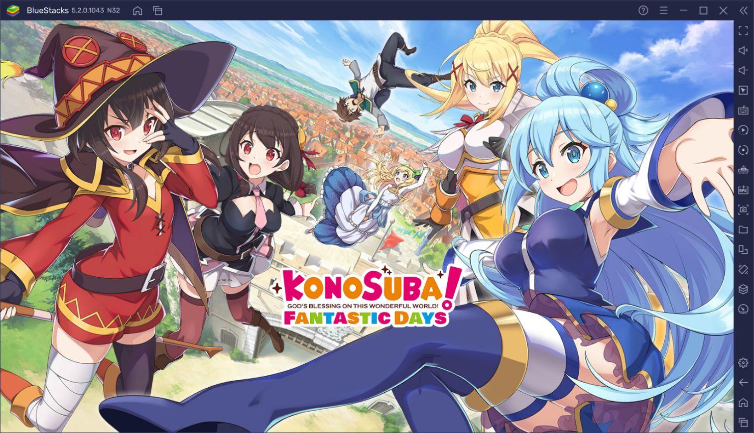 KonoSuba: Fantastic Days BlueStacks Kurulumu