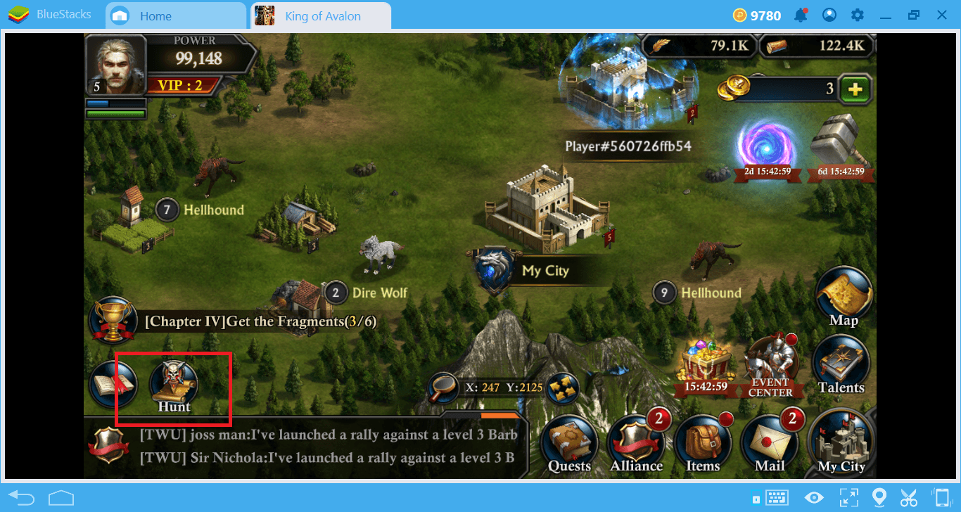 تعرف على أفضل استراتيجية للموارد في King of Avalon على جهاز الكمبيوتر